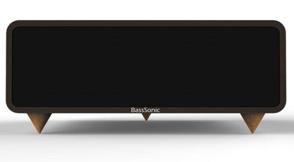 Bass Sonic Brown Speakers Bluetooth v3.0